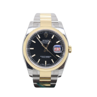ROLEX DATEJUST 116203 STEEL AND 18CT YELLOW GOLD £6995.00