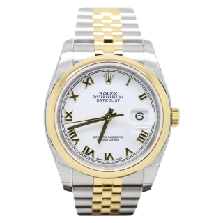 ROLEX DATEJUST 31MM MID SIZE STEEL WITH DIAMOND BEZEL 178344 £6895.00 - Cheshire Watch Company