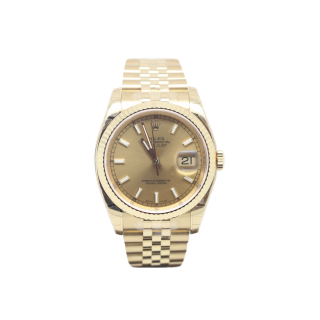 Rolex Datejust 116238 18ct Yellow Gold £16,495.00 - The Cheshire Watch Company