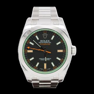 ROLEX MILGAUSS 116400GV £6495.00 - Cheshire Watch Company