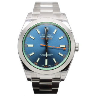 ROLEX MILGAUSS 116400GVB £5695.00 - Cheshire Watch Company