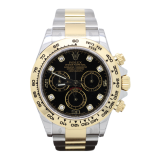 NEW MODEL ROLEX DAYTONA 116503 STEEL AND 18CT YELLOW GOLD CHRONOGRAPH DIAMOND DIAL £12,295.00 - The Cheshire Watch Company