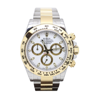 NEW MODEL ROLEX DAYTONA 116503 STEEL AND 18CT YELLOW GOLD CHRONOGRAPH £10,995.00