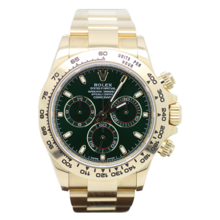 ROLEX DAYTONA 116508 18CT YELLOW GOLD CHRONOGRAPH £26,995.00 - Cheshire Watch Company Boutique Wilmslow
