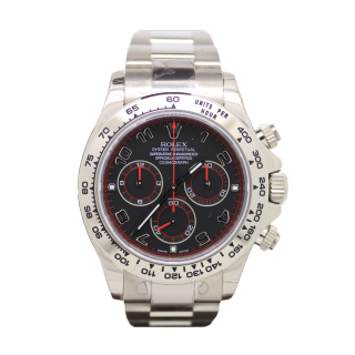 ROLEX DAYTONA 116509 18CT WHITE GOLD CHRONOGRAPH £22,995.00 - Cheshire Watch Company Boutique Wilmslow