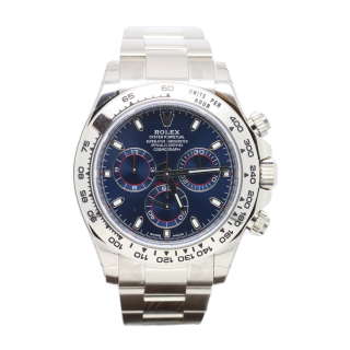 ROLEX DAYTONA 116509 18CT WHITE GOLD CHRONOGRAPH £24,495.00 - Cheshire Watch Company Boutique Wilmslow