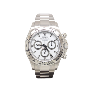 ROLEX DAYTONA 116509 18CT WHITE GOLD CHRONOGRAPH £20,995.00 - Cheshire Watch Company Boutique Wilmslow