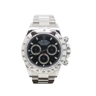 UNWORN ROLEX DAYTONA 116520 STEEL CHRONOGRAPH £19,995.00 - The Cheshire Watch Company