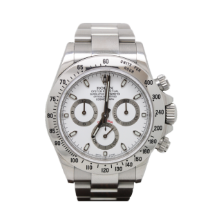 ROLEX DAYTONA 116520 STEEL CHRONOGRAPH £12,495.00 - The Cheshire Watch Company