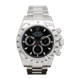 ROLEX DAYTONA 116520 STEEL CHRONOGRAPH - The Cheshire Watch Company