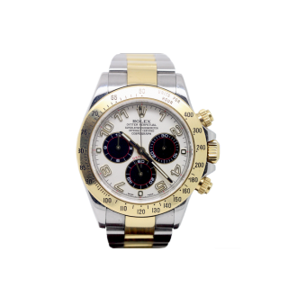 ROLEX DAYTONA 116523 STEEL AND 18CT YELLOW GOLD  CHRONOGRAPH £10,495.00