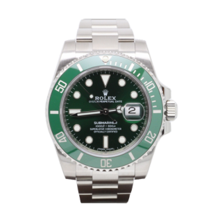 ROLEX SUBMARINER 116610 LV STEEL