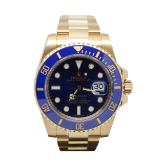 ROLEX SUBMARINER 116618 LB 18CT YELLOW GOLD £21,995.00  - The Cheshire Watch Company