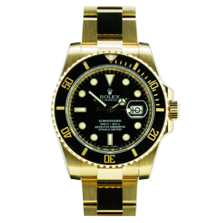Rolex Submariner 116618 LN 18ct yellow gold £18,995.00