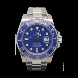 ROLEX SUBMARINER 116619 LB 18CT WHITE GOLD £20,495.00 - Cheshire Watch Company
