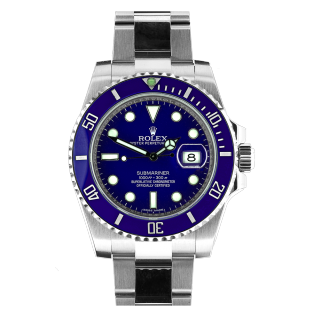 ROLEX SUBMARINER 116619 LB 18CT WHITE GOLD £23,995.00 - Cheshire Watch Company