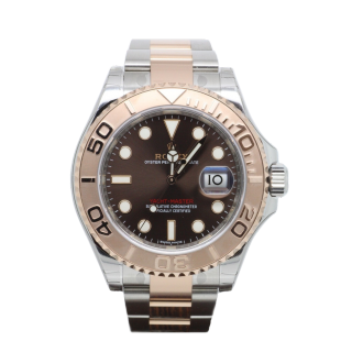 ROLEX YACHTMASTER 268621 STEEL AND 18CT ROSE GOLD £8595.00 - Cheshire Watch Company