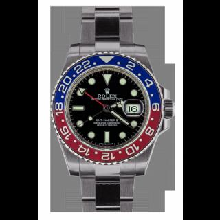 ROLEX GMT MASTER II 116719BLRO VALET £100.00