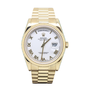 ROLEX DAYDATE 18CT YELLOW GOLD 118238 £12,995.00 - The Cheshire Watch Company