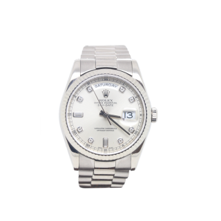 Rolex Daydate 118239 18ct White Gold Diamond Dial £12,495.00