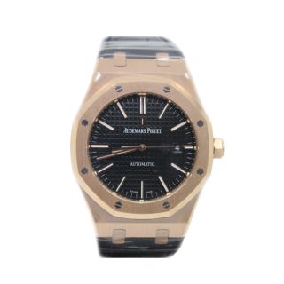 AUDEMARS PIGUET ROYAL OAK 18CT ROSE GOLD £20,995.00 15400OR.OO.D002CR.01 - Cheshire Watch Company