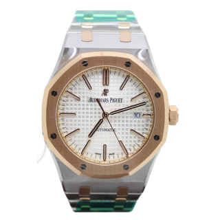AUDEMARS PIGUET ROYAL OAK 18CT ROSE GOLD 15400OR.OO.1220OR.02 £16,495.00 - Cheshire Watch Company