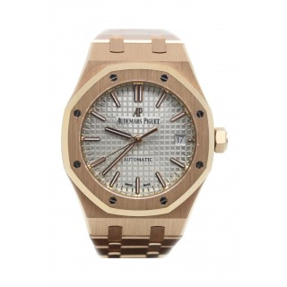 AUDEMARS PIGUET ROYAL OAK 18CT ROSE GOLD £26,995.00 15450OR.OO.1256OR.01 - Cheshire Watch Company