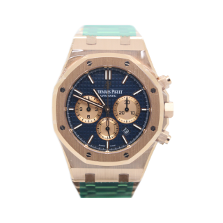 AUDEMARS PIGUET ROYAL OAK 18CT ROSE GOLD CHRONOGRAPH £42,995.00 26331OR.OO1220OR.01 - Cheshire Watch Company