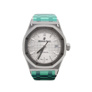 AUDEMARS PIGUET ROYAL OAK  15400ST.OO.1220ST.02 £13,495.00 - Cheshire Watch Company
