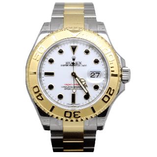 ROLEX YACHTMASTER 16623 18ct YELLOW GOLD AND STEEL £6495.00 - Cheshire Watch Company