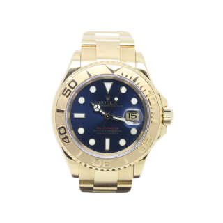 Rolex Yachtmaster Mid Size 168628 18ct yellow gold £11,995.00 - Cheshire Watch Company
