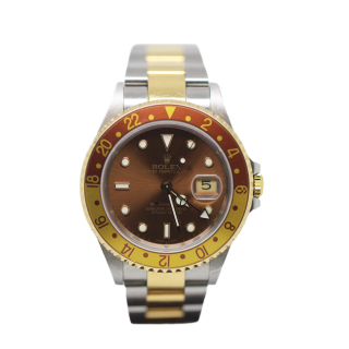 ROLEX GMT MASTER II 16713 ROOT BEER £7495.00 - The Cheshire Watch Company