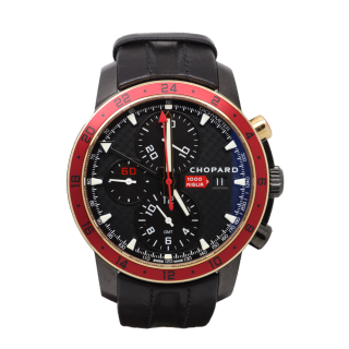 CHOPARD MILLE MIGLIA GMT CHRONO  ZAGATO BOUTIQUE LIMITED EDITION 168550-6001 £5300.00  - Cheshire Watch Company