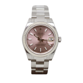 ROLEX DATEJUST 31MM MID SIZE STEEL AND 18CT WHITE GOLD 178274 £4995.00 - Cheshire Watch Company