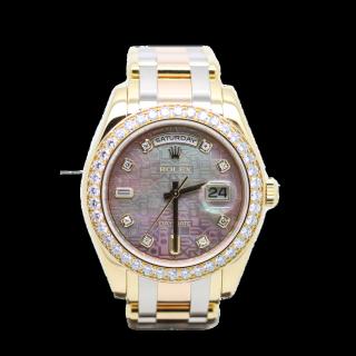 ROLEX DAYDATE TRIDOR MASTERPIECE 18948 DIAMOND BEZEL £24,995.00 - The Cheshire Watch Company
