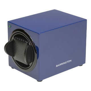 BARRINGTON BLUE SINGLE WATCHWINDER - Cheshire Watch Company