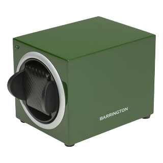 BARRINGTON GREEN SINGLE WATCHWINDER - Cheshire Watch Company
