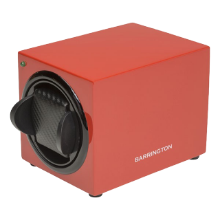BARRINGTON RED SINGLE WATCHWINDER - Cheshire Watch Company