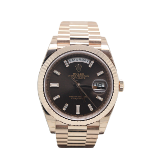 ROLEX DAYDATE 40 18CT ROSE GOLD 228235 £26,495.00 - The Cheshire Watch Company