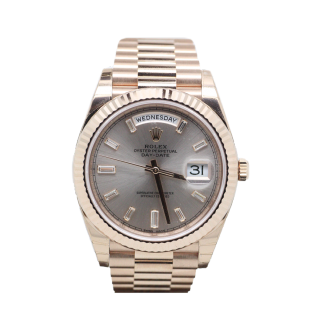 ROLEX DAYDATE 40 18CT ROSE GOLD 228235 £26,995.00 - The Cheshire Watch Company