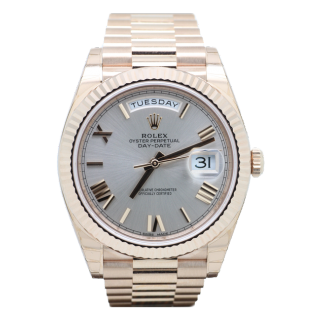 ROLEX DAYDATE 40 18CT ROSE GOLD 228235 £22,995.00 - The Cheshire Watch Company