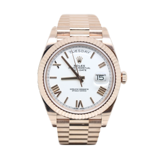 ROLEX DAYDATE 40 18CT ROSE GOLD 238235 £23,495.00 - The Cheshire Watch Company