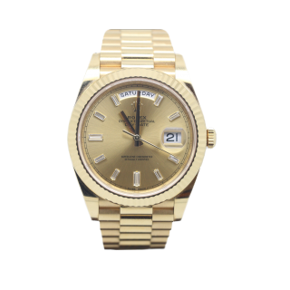 Rolex Daydate 40 228238 18ct Yellow Gold Diamond Dial £24,995.00