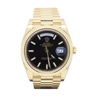 ROLEX DAYDATE 40 228238 18CT YELLOW GOLD £18,995.00 - The Cheshire Watch Company