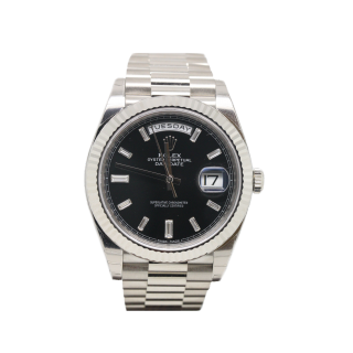 ROLEX DAYDATE 40 18CT WHITE GOLD 228239 £26,495.00 - The Cheshire Watch Company