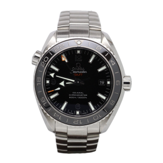 OMEGA SEAMASTER PLANET OCEAN GMT £3950.00 232.30.44.22.01.001 - Cheshire Watch Company