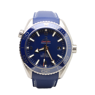 OMEGA SEAMASTER PLANET OCEAN TITANIUM LIQUID METAL £4295.00 232.92.46.21.03.001 - The Cheshire Watch Company Wilmslow