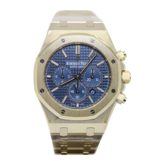 AUDEMARS PIGUET ROYAL OAK 18CT YELLOW GOLD CHRONOGRAPH £44,495.00 26320BA.OO.1220BA.02 - Cheshire Watch Company