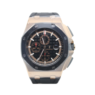 Audemars Piguet Royal Oak 44mm Offshore 18ct Rose Gold Chronograph £33,995.00 26401RO.OO.A002CA.02 - The Cheshire Watch Company