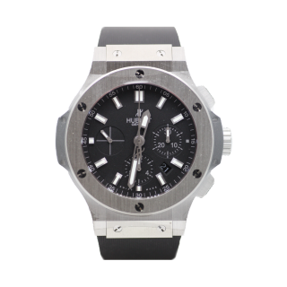 HUBLOT BIG BANG STEEL CHRONOGRAPH  £8895.00 301.SX.1170.RX - The Cheshire Watch Company